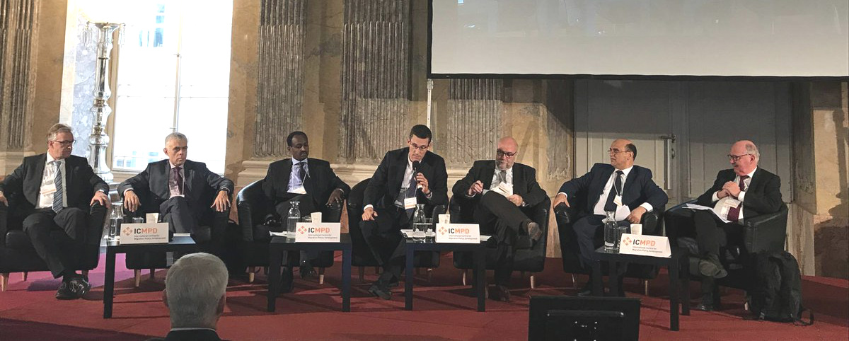"Mr Genetzke, MIEUX Programme Director, moderated the panel ""Sustainable Partnerships – Towards Long-Term Cooperation"""